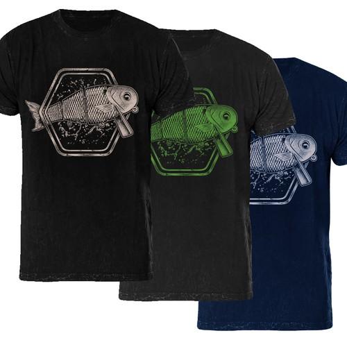 contest Fishing Swimbait T-Shirt