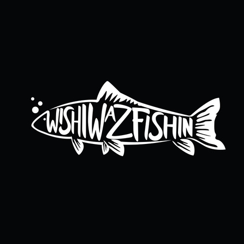 Clever logo for fishing apparel
