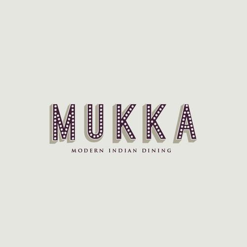 Logo for Indian modern dining