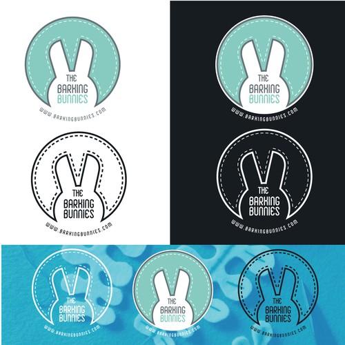 logo the barking bunnies