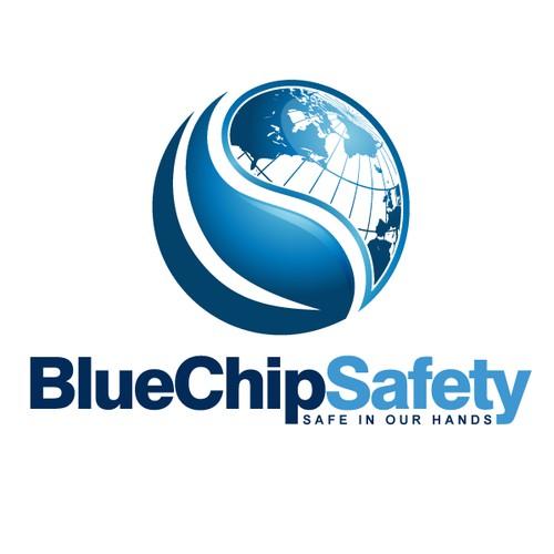 Blue Chip Safety Logo