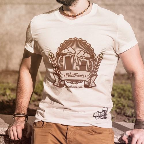 T-Shirt Design for Whattrivia