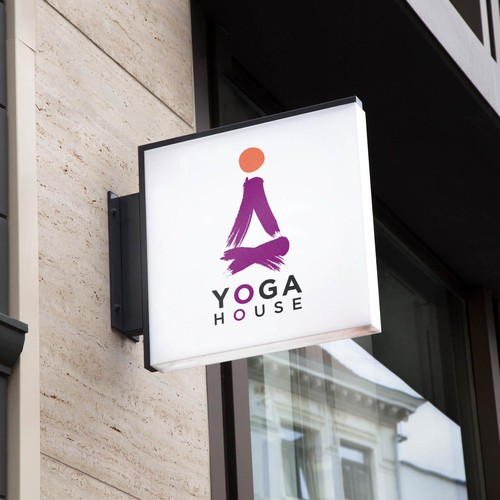 Logo concept for Yoga House