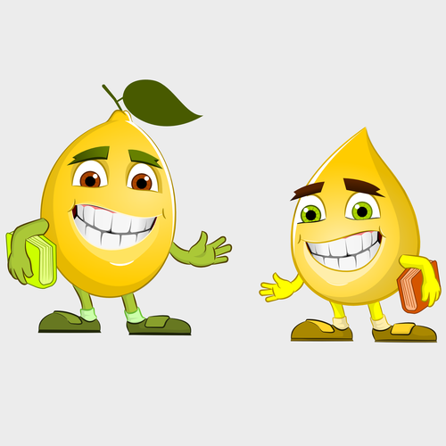 Create Lemon and Lemon Drop Characters