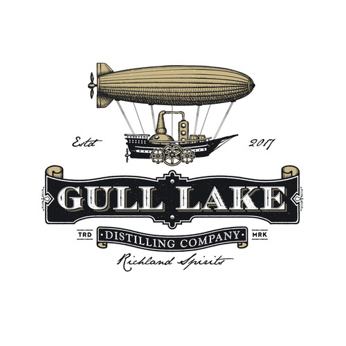 Gull lake Distilling Company.