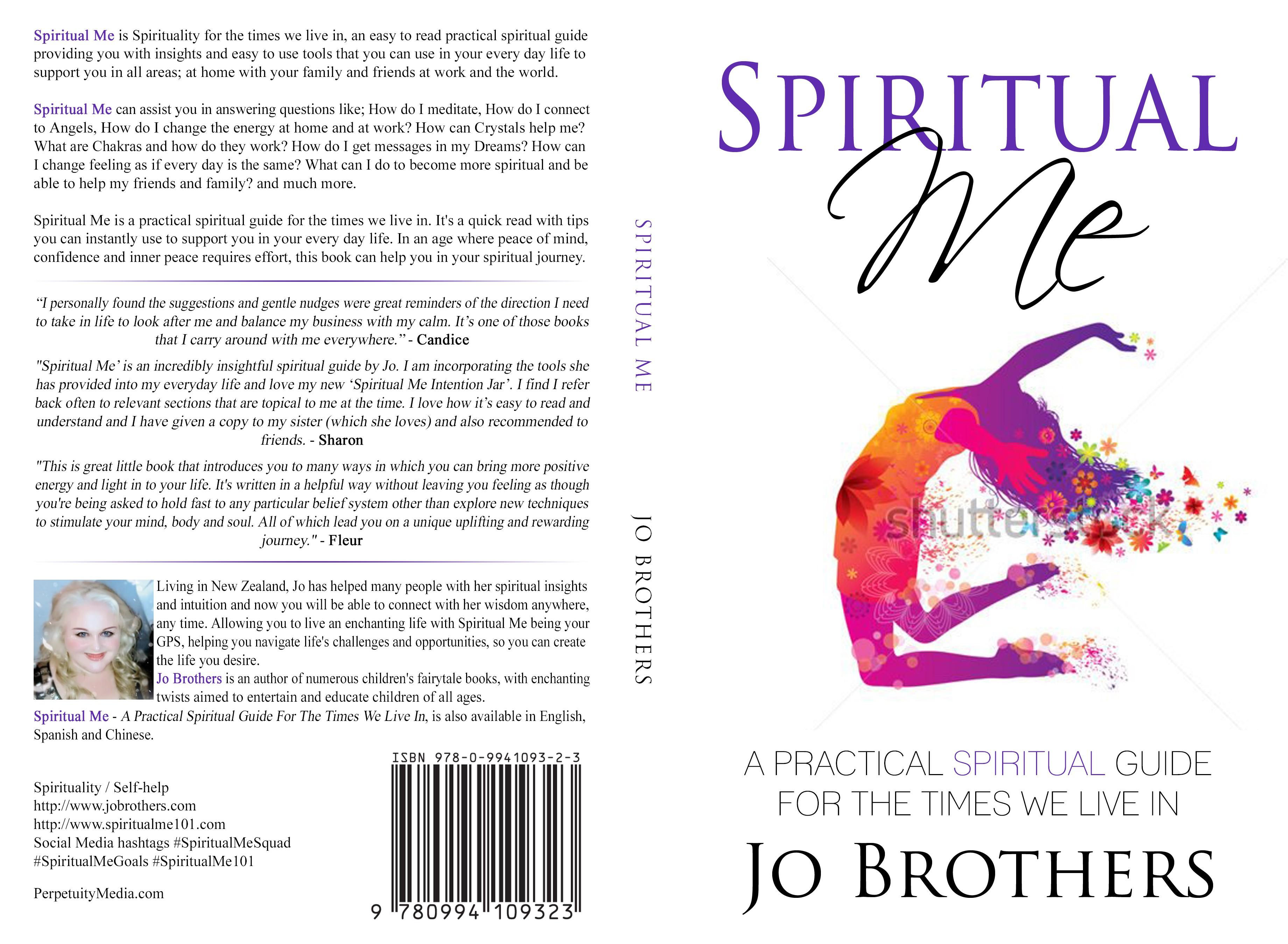 Spiritual Me - Design a new book cover for us!