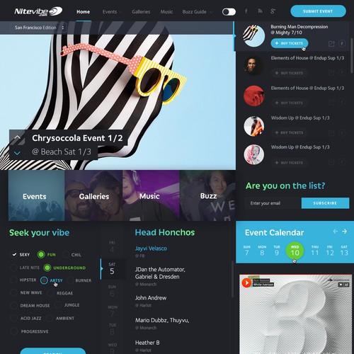 Club-DJ Culture website Nitevibe.com