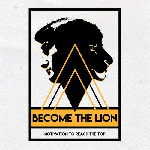logo para Become the Lion