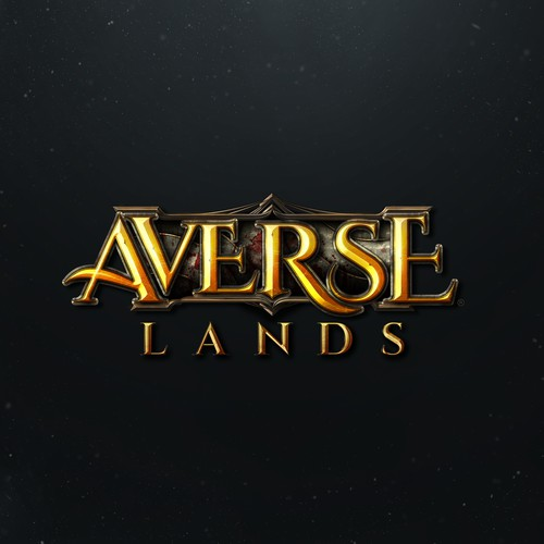 Averse Lands - Dark Fantasy MMORPG Game Logo