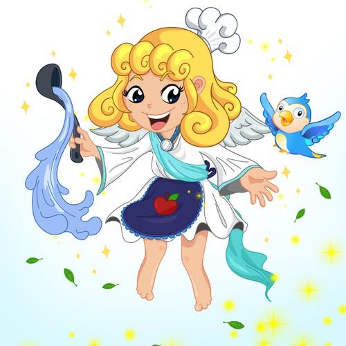 Angel Mascot Concept - for Taiwan Restaurant