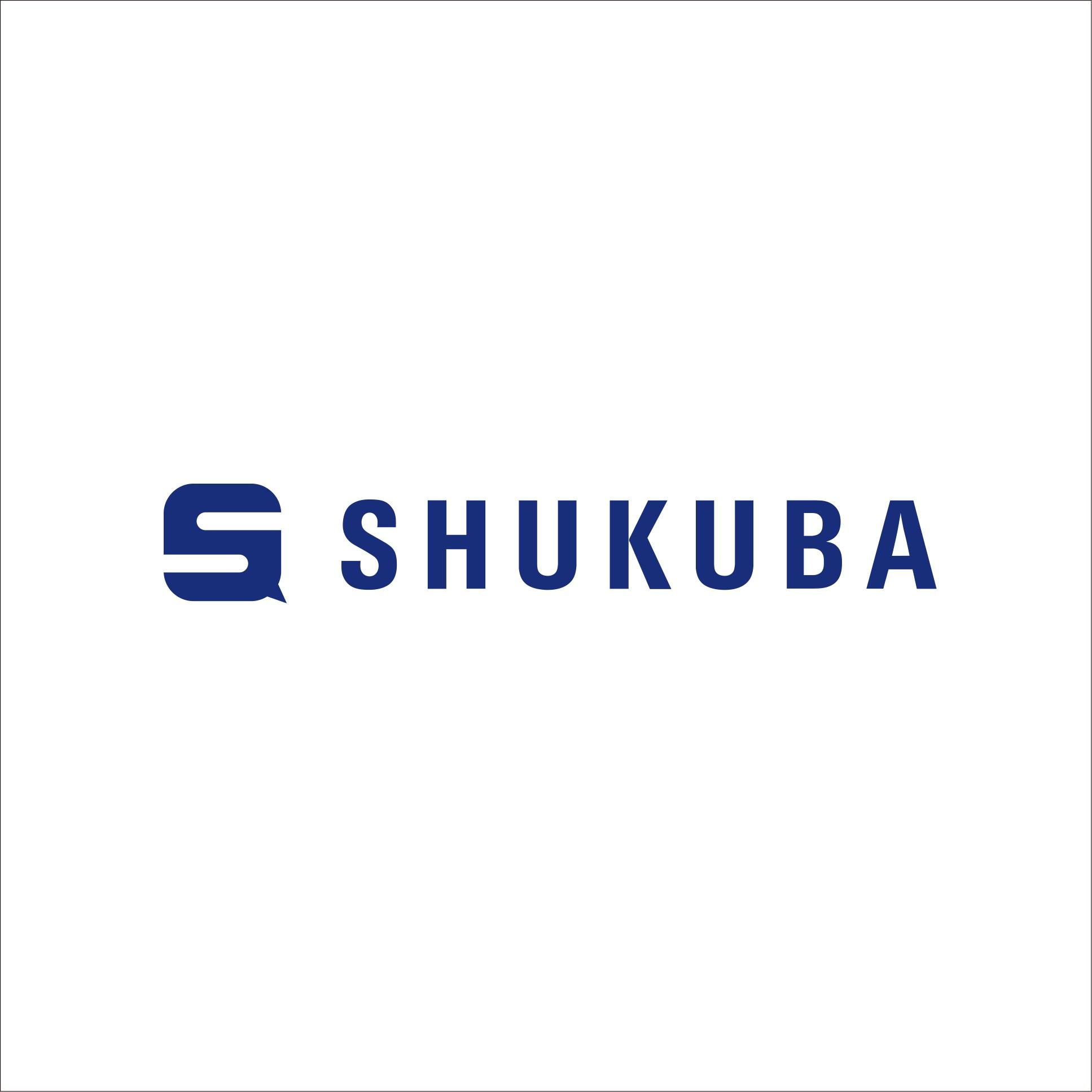 ホテル検索アプリSHUKUBAのロゴデザイン