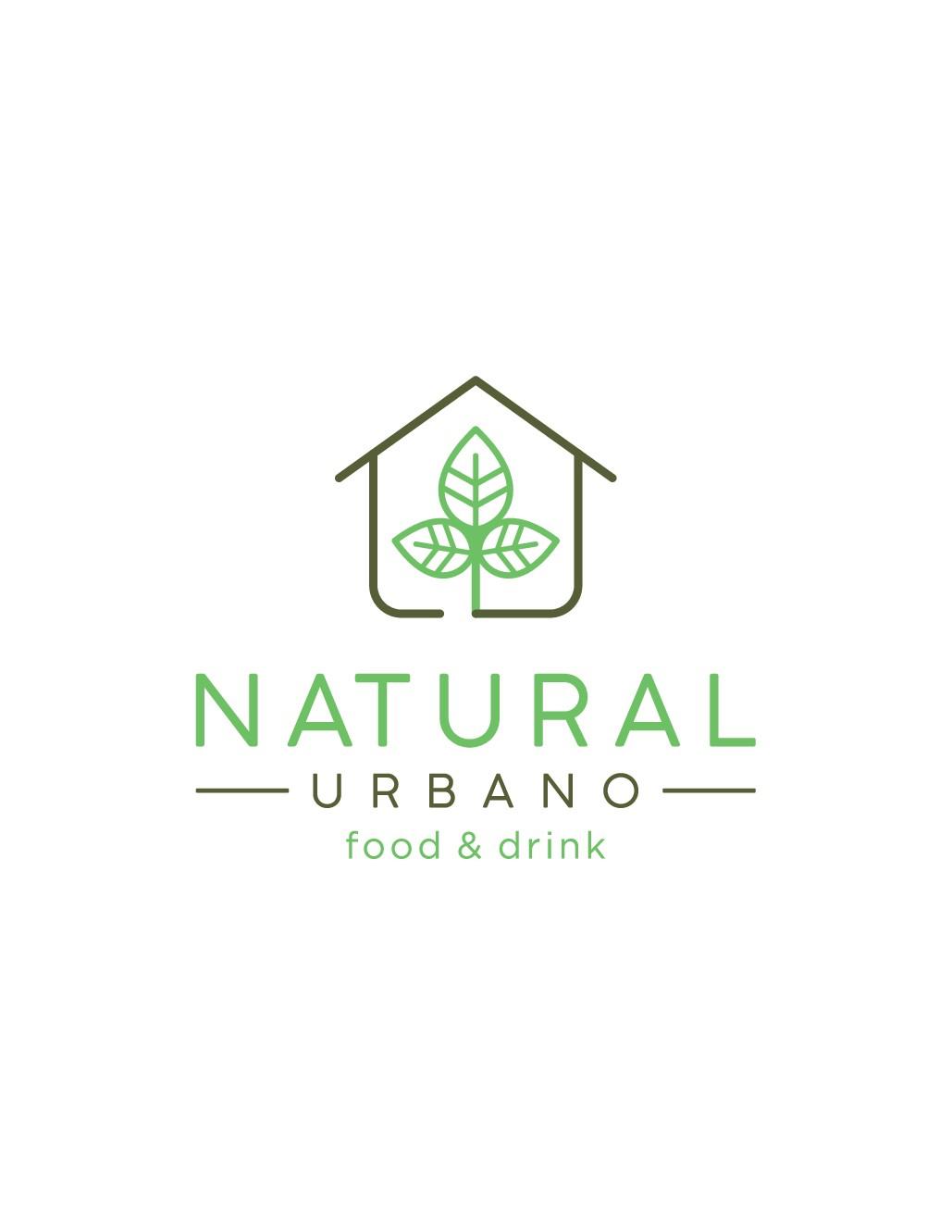 Crie um design de um logotipo moderno para Natural Urbano