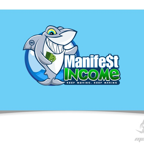 Manifest Income Shark Logo