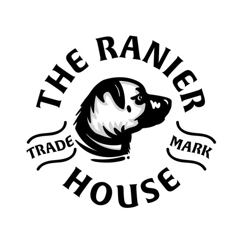 bold logo concept do the ranier house