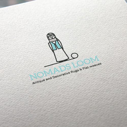 Minimal logo for rug company