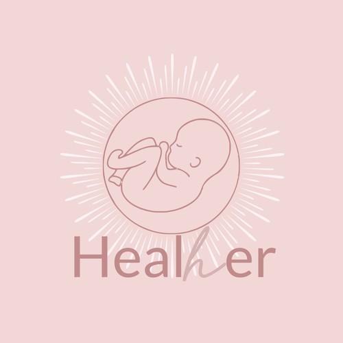 Heal Her Logo Design