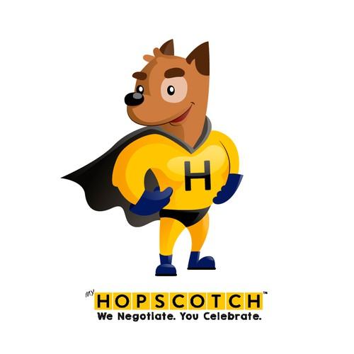 Hopscotch the super dog