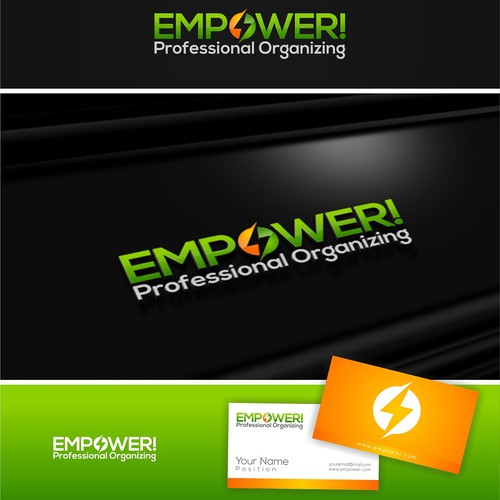 New logo wanted for EMPOWER! Professional Organizing
