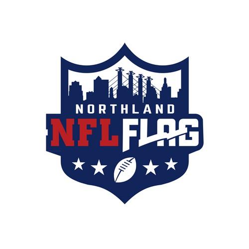 Logo for NFL Flag Organisation