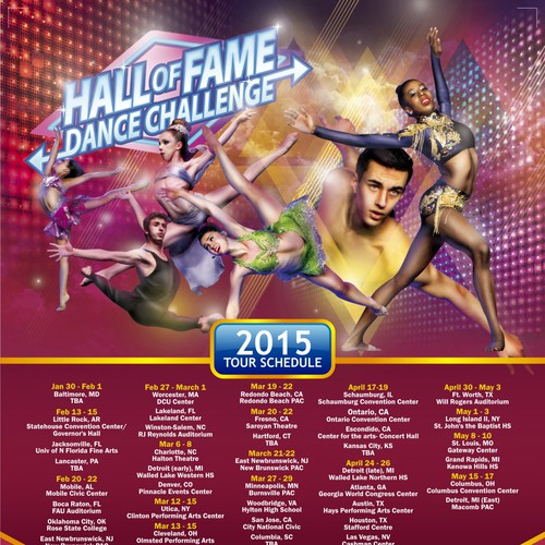 2015 National Dance Competition Tour Ad!!!
