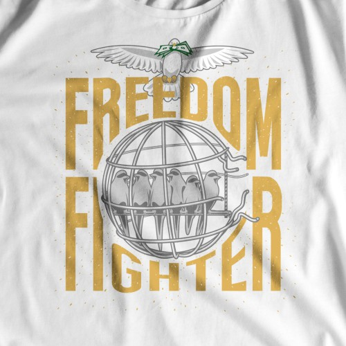 freedom fighter for a future financially brighter