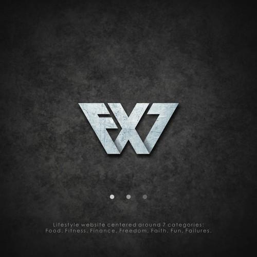 Design logo for Fx7 Lifestyle Website.