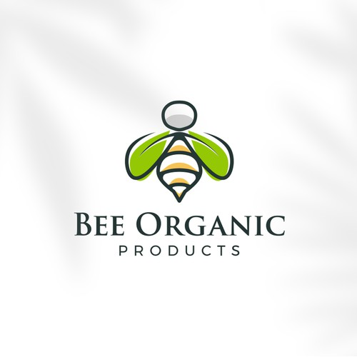 LOGO CONCEPT FOR BEE ORGANIC