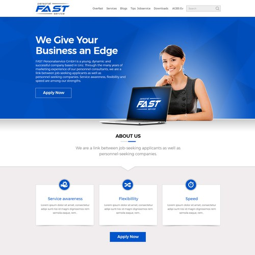 Web Design for Business & Consulting Company