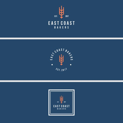 Create a cool, fresh logo for - East Coast Bakers
