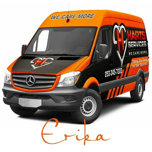 Home Services Company is rebranding to orange to shock our market with progressive design