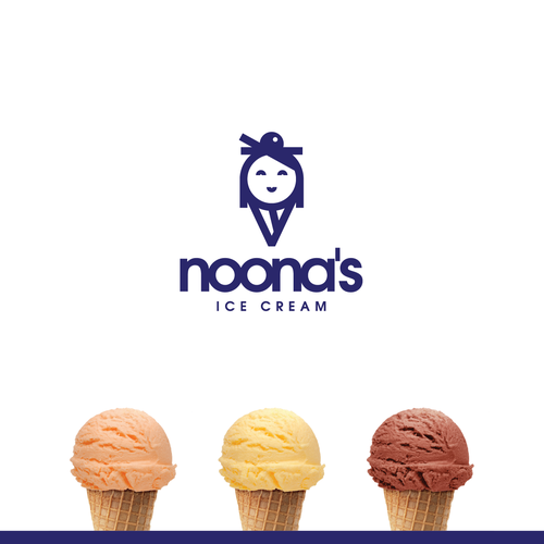 Logo concept for Korean ice cream