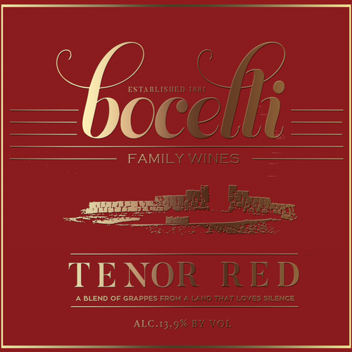 Bocelli Family Wines -Tenor red