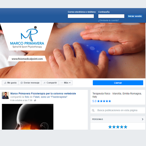 Marco Primavera spine and sport physiotherapy