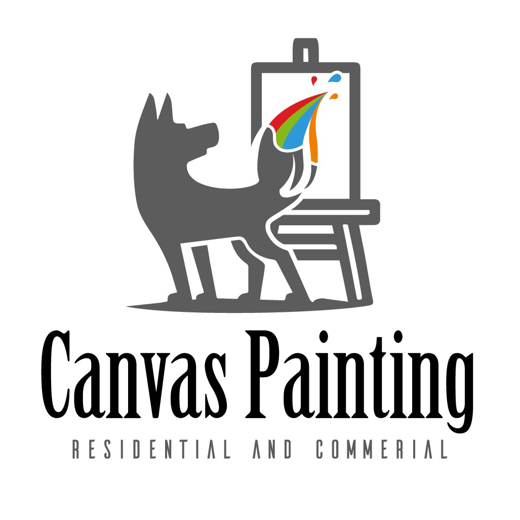 Logo for Canvas Painting. Final work.