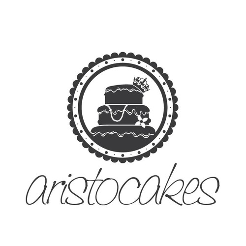 create an image that will help me launch a custom cake shop in trendy manhattan