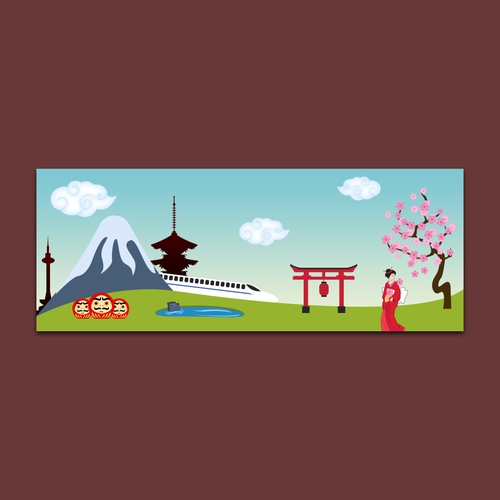 Facebook Cover Japanese Theme