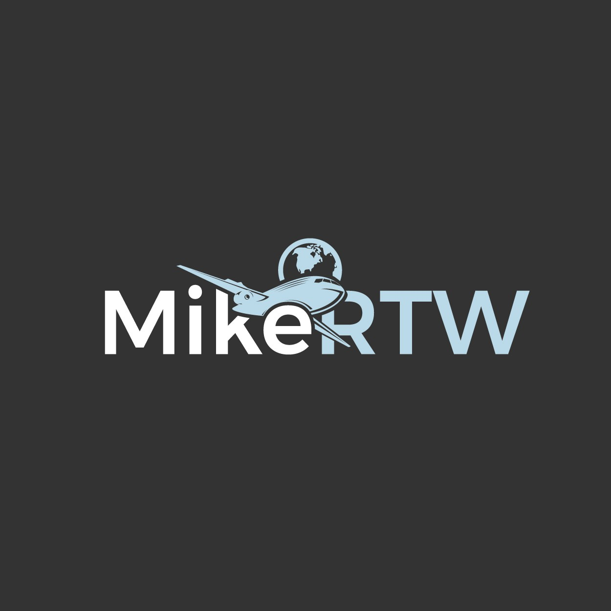 """Blog Logo Needed for """"MikeRTW:  One man. One planet. Every country."""""""