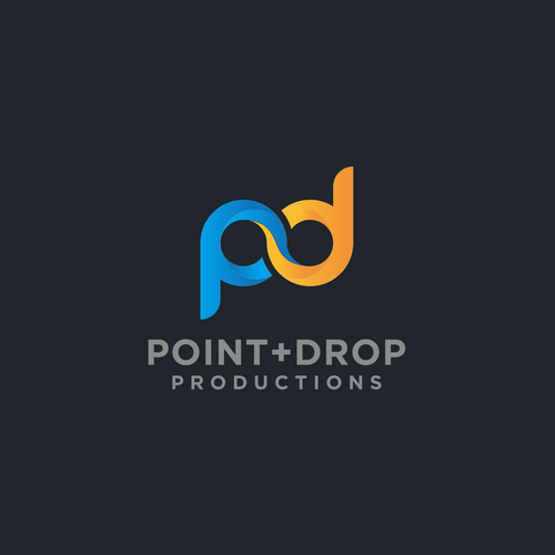 Logo design for Point+Drop Productions