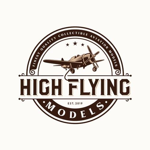 logo design for model aircraft manufacturer