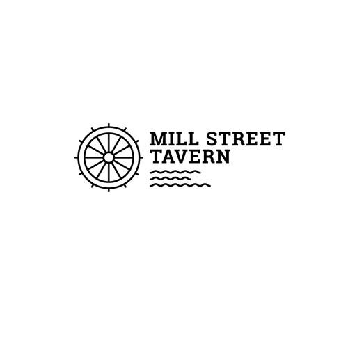 Logodesign for a modern tavern