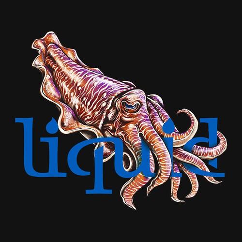 Sea Creature Design for Tshirt