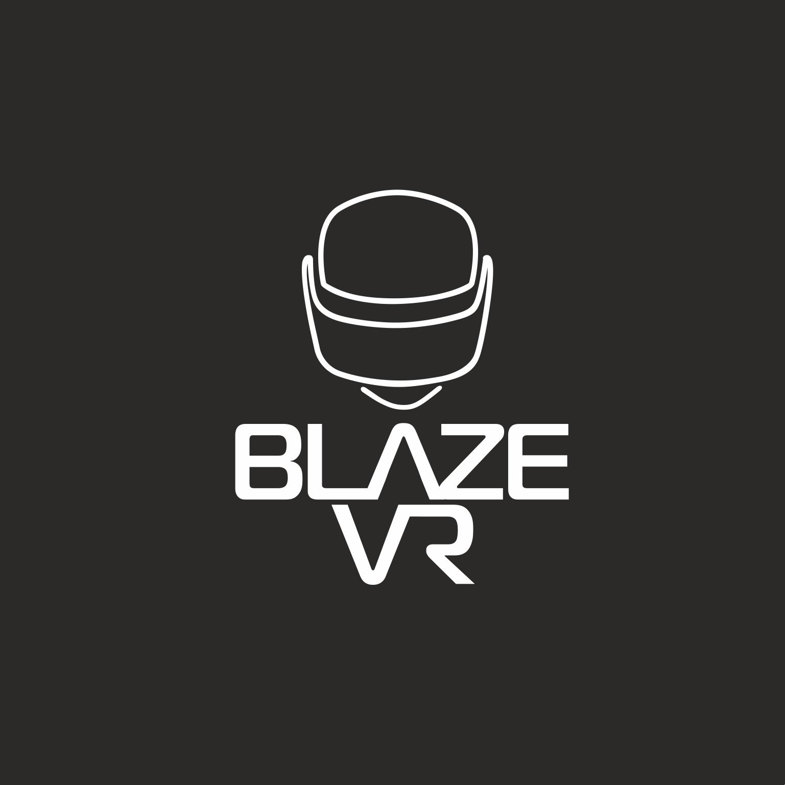 Design a futuristic logo for a virtual reality gaming studio