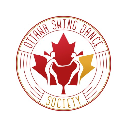 Logo concept for Ottawa Swing Dance Society