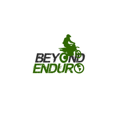 Beyond Enduro logo design entry