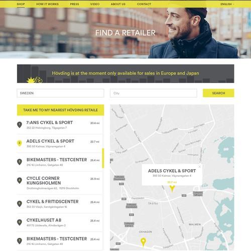 Retailer Page