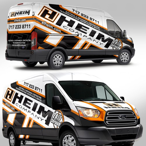 FORD TRANSIT Wrap Design