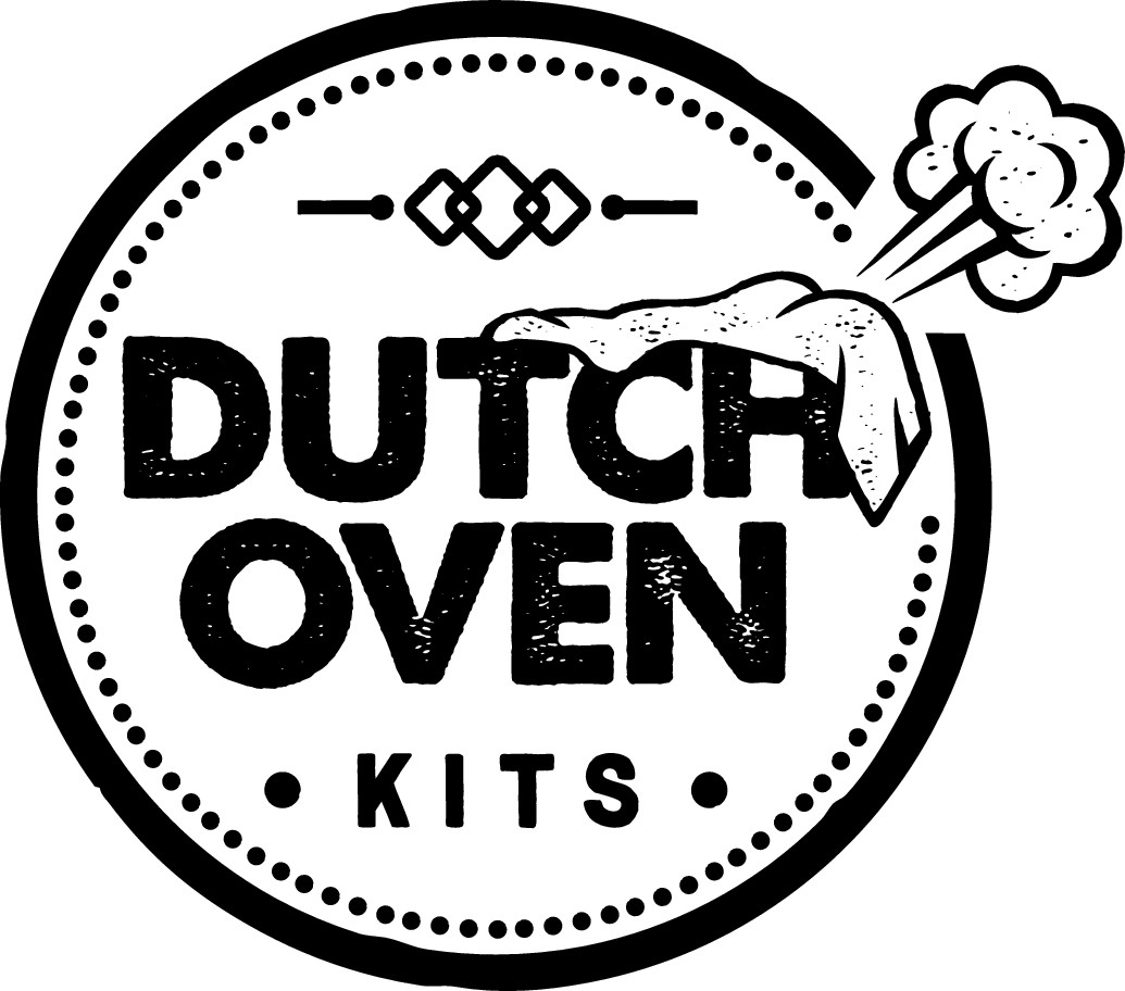 Dutch Oven Kits. A ridiculous company looking for a silly, rustic themed logo