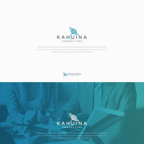 Logo concept for Kahuina Consulting