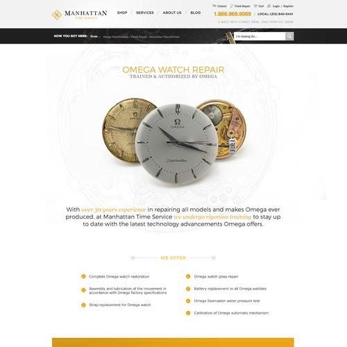 Watch repair website