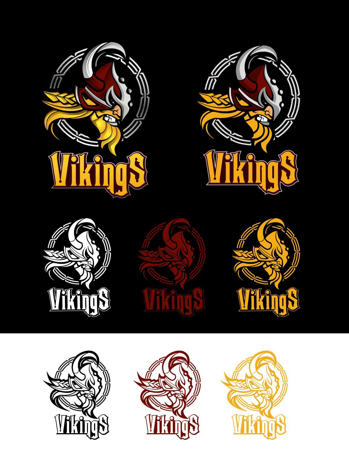 Forest Grove Vikings Baseball Logo